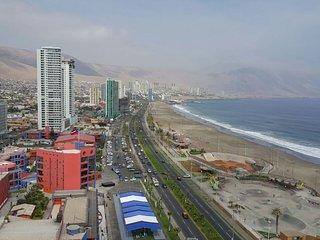 Alto Departamento frente al mar Iquique