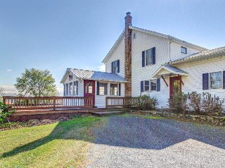 Dog-friendly home on 200 acres w/private beach on the shores of Lake Champlain!