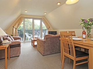 VALLEY LODGE No.1 on-site swimming pool, pet friendly, countryside views in Gunn