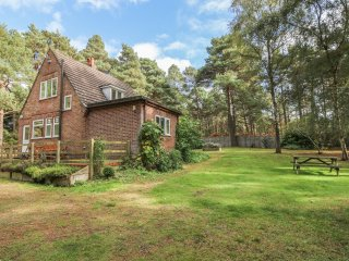 THE CHALET, pet friendly, country holiday cottage, with a garden in Avon Heath C