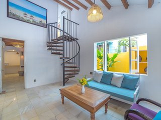An Bang Dolphin House. Two bedroom villa 30 metres from to the beach.