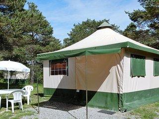 Bungalow 4 places (1 cuisine et 2 chambre; Sanitaires du camping)