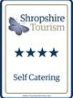 Awarded 4 stars by Shropshire Tourism