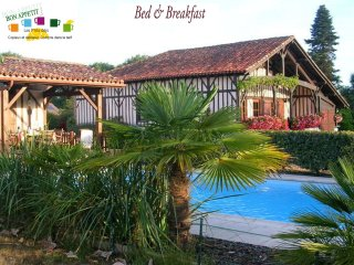 Bed & Breakfast : piscine, océan, golf