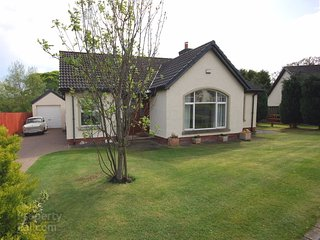 Beautiful bungalow with large private garden on the world famous Antrim Coast Rd