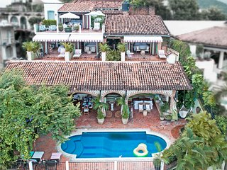 Casa Guacamole: Magical open-air hacienda with million dollar ocean views