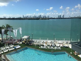 Stunning 5 * Hotel *  Mondrian * 1 Bed Apartment * Balcony * View *  Sleeps 4