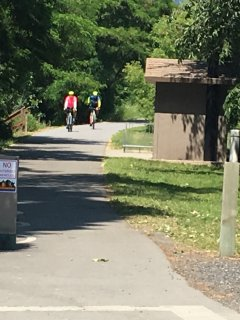 The opening to the Trail of the Coeur D Alene's is just down the street.  Bring your bikes.
