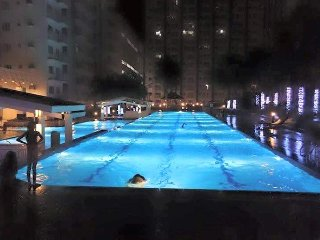 2BR FULLY FURNISHED WITH BALCONY FACING POOLSIDE /  FAST INTERNET PROVIDER