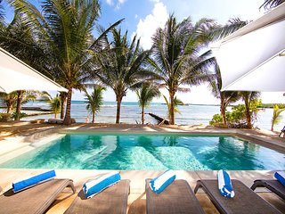 Riviera Maya Haciendas - Hacienda Corazon Beach Front 5-10 BR, FULLY STAFFED!