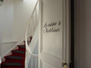La cuisine à Madeleines Gîte centre ville de Lille A la recherche du temps perdu