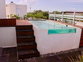 Bosque de los Aluxes 105. Penthouse with private pool for 6 people