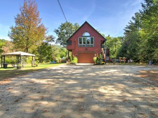 2BR North Conway House on 4 Private Acres!