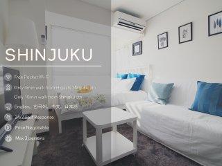 Downtown Shinjuku, JR Shinjuku Stn/Free Wifi B11