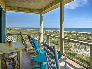 Cape San Blas Home w/ Private Boardwalk to Beach!