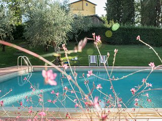 Beautiful Tuscan Villa with Tower and Private Swimming Pool near Florence