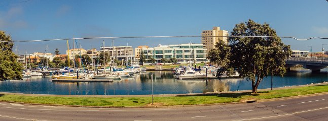 marina view apartment with private balcony