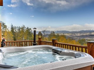 NEW! Private 2BR Granby Home w/Mtn Views & Hot Tub