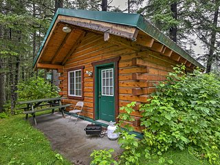 NEW! Cozy Seward Studio Cabin - Near Salmon Creek!