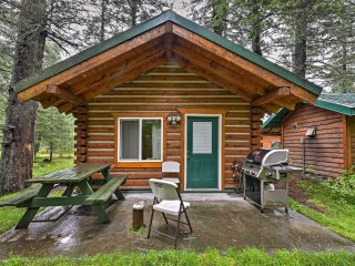 NEW! Creekside Seward Studio Cabin on 3 Acres!