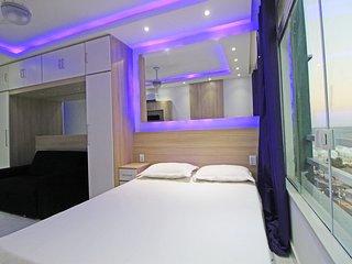 Apartamento com vista mar p/3 pessoas