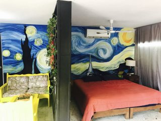 Bello Departamento estilo Van Gogh en zona centrica