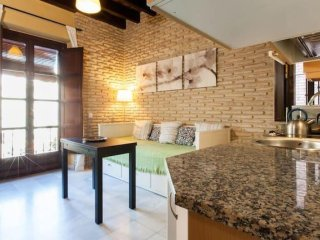 Moravia apartment in Casco Antiguo with WiFi, airconditioning, balkon & lift.