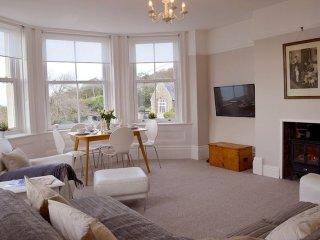Stunning Victorian flat with Spectacular costal views over the English channel.