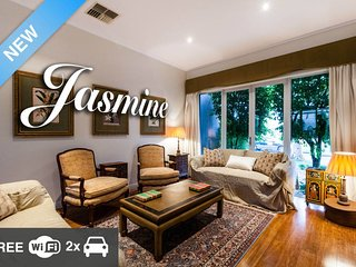 Jasmine, tranquil waterside escape
