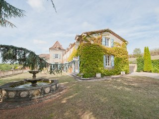 8 Bedroom Beautiful Country Manor House, Les Granels, Southern France