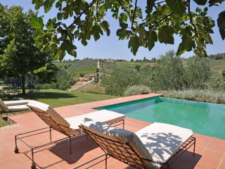 Borgo Iris - ancient farmhouse situated in a splendid hillside position, pool