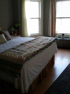 King room upstairs - bedroom #1