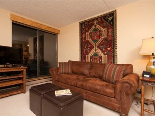Ski-in condo, 2 blocks from Main Street - indoor/outdoor hot tubs!