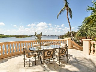 NEW! Waterfront 7BR Manalapan Home w/ Pool & Dock