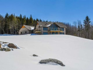 Stowe Home on 6 Acres w/ Mtn & Lake Elmore Views!
