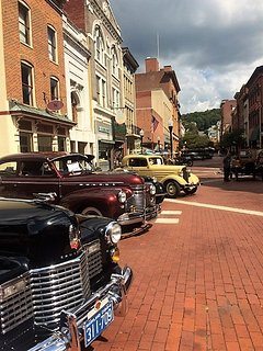 Historic Downtown Cumberland during Classic Car Show (September 2017)
