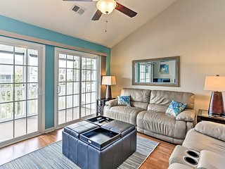 Modern Myrtle Beach Condo By Coastal Attractions!