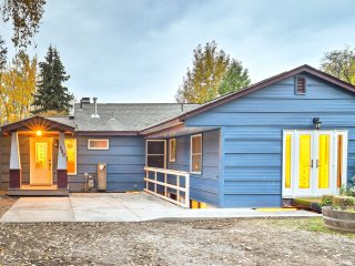Remodeled Anchorage Home w/Yard & Fireplace in DT!