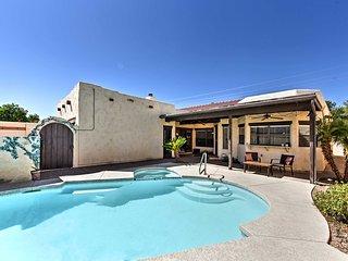 Luxury Mesa House w/ Private Yard & Heated Pool!