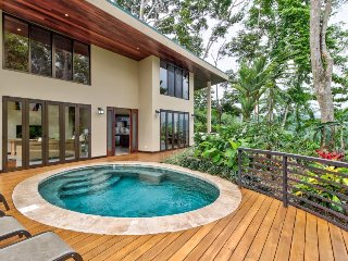 Jungle retreat w/ private pool, huge deck, and gorgeous views from every room