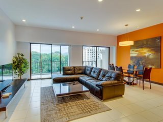 Stylish modern condo with shared pool area just moments from beach!