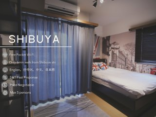 Downtown Shibuya Spacious ROOM #404