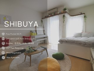 Downtown Shibuya Spacious ROOM #302