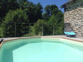 Gite rural de charme pour 4 avec piscine privee - Moulin de Limayrac, Aveyron