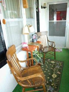Enclosed Porch Looking North