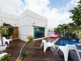 Maravillosa Villa minimalista con piscina privada