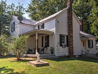 NEW! Historic Worden House w/ Covered Porch!