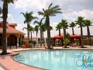 Resort Villa-6BR-5Masters-GameRm-Wifi-10min Disney