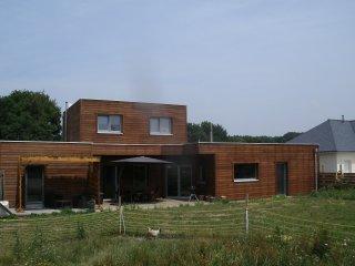 4 chambres d'hôtes dans maison bois ecologique