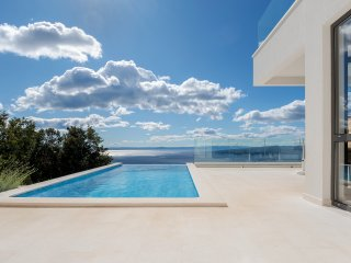 Villa Bellevue Bast - new, modern luxury villa with amazing sea view